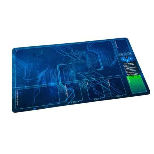 Netrunner Playmat Corp Blue Sun