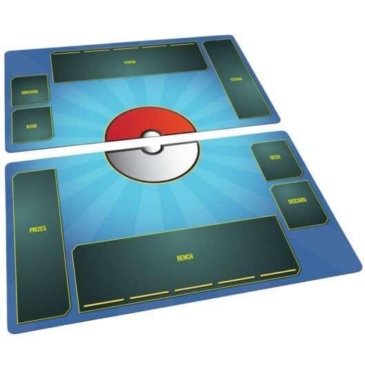 Pokemon Playmat Set Stadium Water Blue
