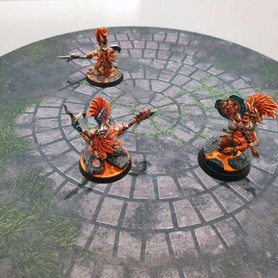 12 inch round custom template