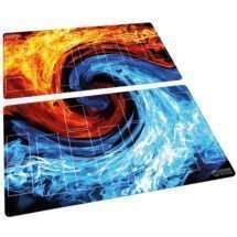 YuGiOh Playmat Set Flames